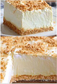 Woolworth Cheesecake Recipe, Cheesecake Desserts, No Bake Desserts, Just Desserts, Delicious Desserts, Dessert Recipes, Yummy Food, Easy Cheesecake Recipes, Mini Cakes