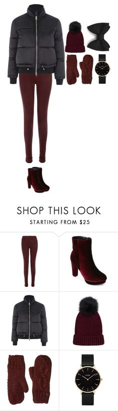 """""""Untitled #375"""" by dutchfashionlover ❤ liked on Polyvore featuring J Brand, Catherine Catherine Malandrino, Topshop, Bula and CLUSE"""