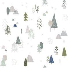 In the Woods - Behang