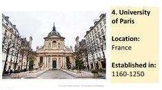 FIVE Oldest Universities In Europe #university #Europe #England #UK #education #Oxford #Cambridge #Paris #video #YouTube