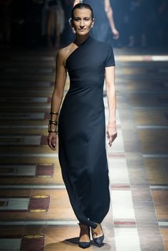 #lanvin #2015 #black dress #violetta sanchez #runway model #Related image