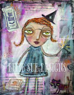 Effie Sue Designs: Never too soon for Halloween