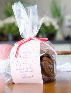 receita de biscoitos de aveia e mel para presentear