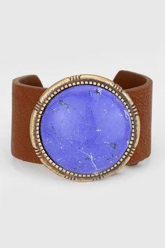 Lanni Bracelet in Blue Howlite