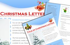 49 custom christmas letter templates for the holidays christmas free christmas newsletter templates include when sending out cards to update family and friends http spiritdancerdesigns Gallery