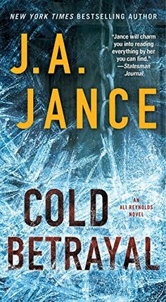 J.a. Jance Novels Discounted book...