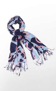 """Lilly calls this the """"Booze cruise"""" murfee scarf. My Dad always called alcohol, """"Booze"""". Love that, since Father's Day is just around the corner :) Lilly Pulitzer Signature Store, Lily Pulitzer, Cruise Attire, Love Hat, Plaid Scarf, Preppy, Spring Fashion, Kids Outfits, My Style"""