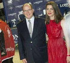 Prince Albert of Monaco and Charlotte Casiraghi, daughter of Princess Caroline of Hanover attended the Longines Global Champions Tour (GCT) of Monaco on June 24, 2016 in Monaco, Monaco. The event takes place from 24 to 26 June.
