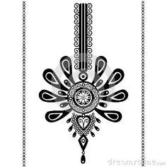 Polish folk design, pattern tattoo