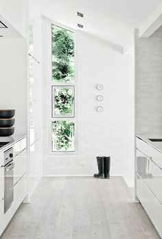 Is The Green Touch In The Windows .Calm And Natural Nordic Interior Design  U2013 Fredensborg House By NORM Architects. Find This Pin And More On Ideen Für  Die ...