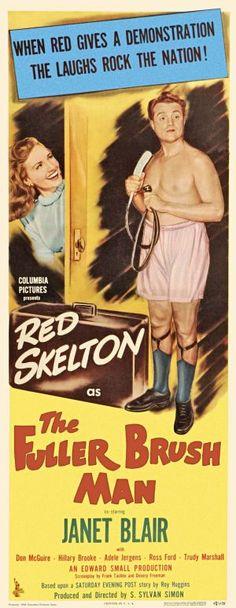 """The Fuller Brush Man"" starring Red Skelton & Janet Blair on Antenna TV -- 6/5/2012 (Tue) at 7a ET & 6/8/2012 (Fri) at 3a ET."
