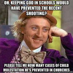 #god #church #school #shooting #atheist #atheism
