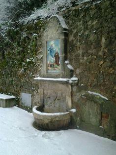 Neu a la Font Roja./ Natxo Lara. Alcoi Alcoy
