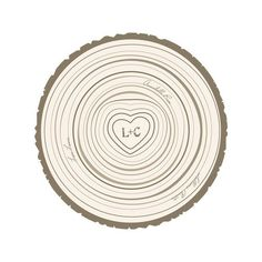 Family Tree Rings by Jessie Steury for Minted