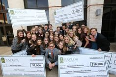 Did you know? There's a course at #Baylor (Philanthropy and the Public Good) where students get to decide where to donate $100,000.