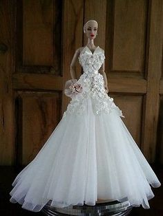 Bestty-Doll-Gown-Outfit-Dress-Fashion-Royalty-Silkstone-Barbie-Model-Doll-FROOAK