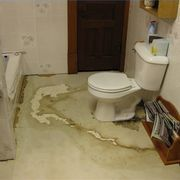 If you find that your bathroom floor has rotted through, you will need to replace it. Sure, it will take you some work, but the end result is well worth the effort. Pick a time to do it, when the bathroom traffic will be lighter, like during the summer months when people are outside more, if possible, and get started. Here are a few tips to move...