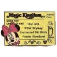 Magic Kingdom - Ticket Book Series - Minnie D