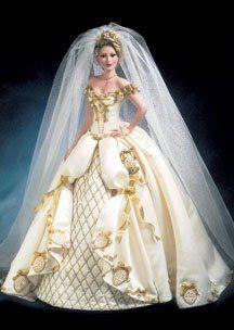 Rare Collectible Porcelain Dolls Meredith Porcelain Bride Doll