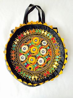 Hand embroidered bags - boho look for the Summer! From Gujarat, India. Pouch Bag, Pouches, Embroidered Bag, Boho Look, Summer Looks, Handmade Items, My Etsy Shop, India, Gifts