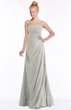c187eeac585b Modest A-line Sweetheart Sleeveless Ruching Bridesmaid Dresses White Bridesmaid  Dresses, Wedding Dresses,