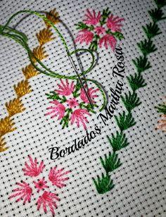 Martha Alvarado Agüero's media content and analytics Hand Embroidery Designs, Embroidery Patterns, Knitting Patterns, Cross Stitch Tree, Cross Stitch Flowers, Hardanger Embroidery, Cross Stitch Embroidery, Cross Stitch Designs, Cross Stitch Patterns