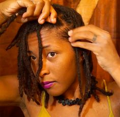 How to Prevent Locs From Tangling at the Root