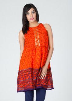 Global Desi Printed Women's Tunic.