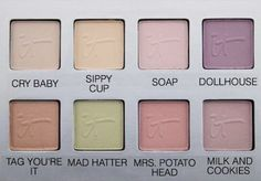 There's a Naturally Pretty Vol 2 matte eyeshadow coming to QVC in August 2015 and I am ecstatic to be one of the first beauty editors to get it in my hands! Mrs Potato Head Melanie, Melanie Martinez Merch, Melanie Martinez Makeup, Melanie Martinez Pictures, V Chibi, Matte Eyeshadow Palette, Aesthetic Makeup, Cry Baby, Matte Nails