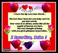 I Have No One, One Wish, Say I Love You, Love You So Much, Love Her, Romantic Love Messages, Romantic Words, Beautiful Words, Perfect Word