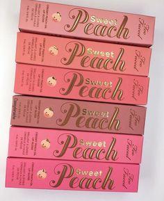 Too faced sweet peach lip glosses