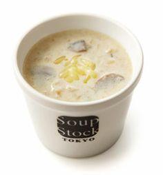 オニオンクリームポタージュ Soup Stock Tokyo