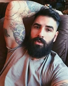 Be proud and represent your beard and tatts. #beards #inspiration #awesomeness #handsome
