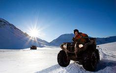 Quad Tour through the snow! Looking forward to winter!