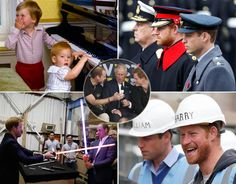 A round-up of the brother-royals, Prince Harry and Prince William.
