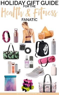 Gift Guide for the fit queen in your life! With great ideas and suggestions for the gym and a healthy lifestyle. Find the perfect gift with these Christmas gifts ideas for the health and fitness fanatic! Diy Gifts For Mom, Gifts For Her, Holiday Gift Guide, Holiday Gifts, Christmas Gifts, Christmas Time, Fitness Gifts, Health Fitness, Gym Bag Essentials