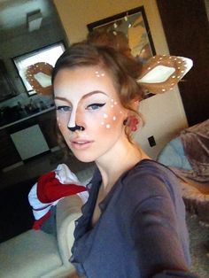 This look was originally all over Reddit and Pinterest, so I definitely needed to try it. Although, I of course needed to add my own flare to it, by adding some fawn-style ears and accessories. This...
