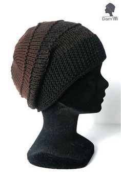 Il parait que j'avais promis un tuto. - Sous l'oeil de Dam'M (By Galexia) Bonnet Crochet, Diy Crochet, Hand Knitting, Knitting Patterns, Crochet Patterns, I Cord, Knitting Accessories, Beautiful Crochet, Beret