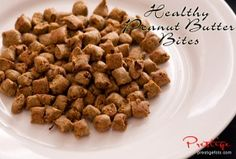 Healthy Peanut Butter Bites for Dogs