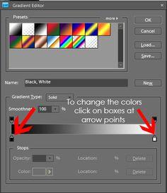 adjustment gradient layer photoshop elements