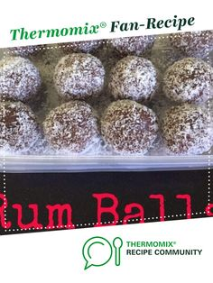 Rum Balls by laurenbrooke. A Thermomix <sup>®</sup> recipe in the category Baking - sweet on www.recipecommunity.com.au, the Thermomix <sup>®</sup> Community.