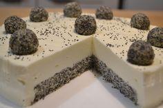 Маковый торт со сметанным суфле - рецепт приготовления