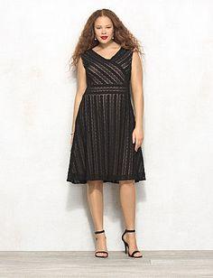 22ff98e365c8c Little Black Dresses, Classic Black Dresses | dressbarn Classic Black Dress,  Plus Size Formal