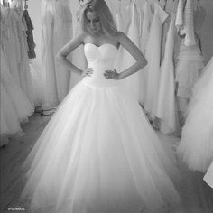Simple princess gown