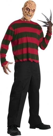 Freddy Mask and Shirt for Halloween at funnfrolic.co.uk - £19.39