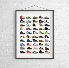 Nike Poster - Nike Dunks - Shoe Poster - Fashion Poster - Nike Sneakers by PigeonStudios on Etsy https://www.etsy.com/listing/236556280/nike-poster-nike-dunks-shoe-poster