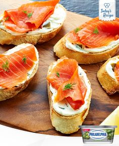 Try not to take a bite out of your screen. These smoked salmon snacks are as delicious as they look.