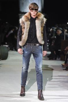 Dsquared2 Fall 2015 Fashion show details & more
