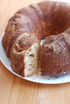 for Rosh Hashanah - Apple honey cake