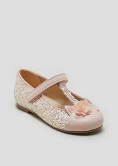 c13132796840 Girls Glitter Unicorn Ballet Shoes (Younger 4-12)